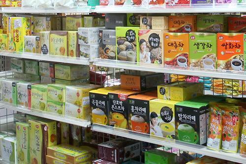 種類豊富な伝統茶