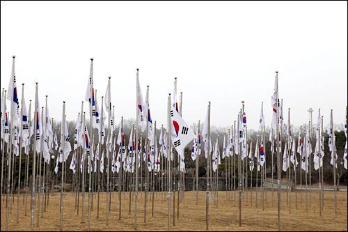 1、独立記念館(忠清南道天安市)帝国主義による受難の歴史と、それに対する独立運動をつづった博物館。