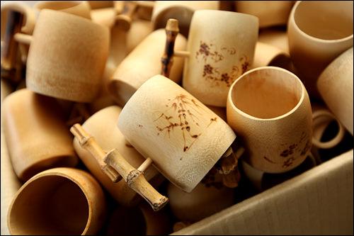 4、韓国竹博物館(全羅南道潭陽郡)全国の竹育成面積のうち25%を占める潭陽(タミャン)の竹工芸品などを展示。