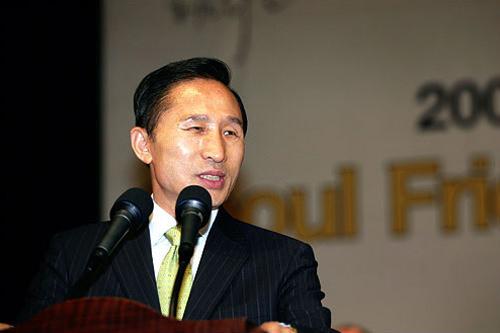 第17代大統領の李明博(イ・ミョンバク)氏