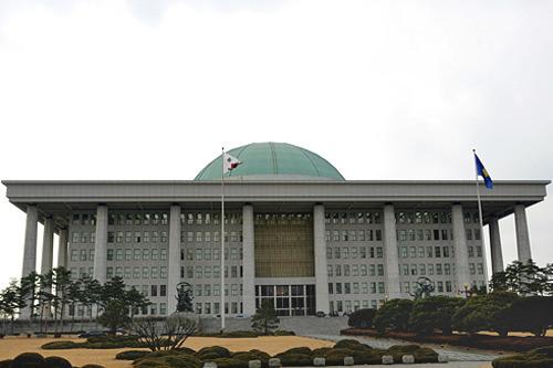 汝矣島(ヨイド)にある国会議事堂
