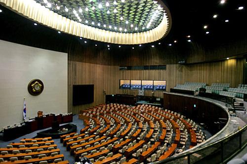 国会内の本会議場