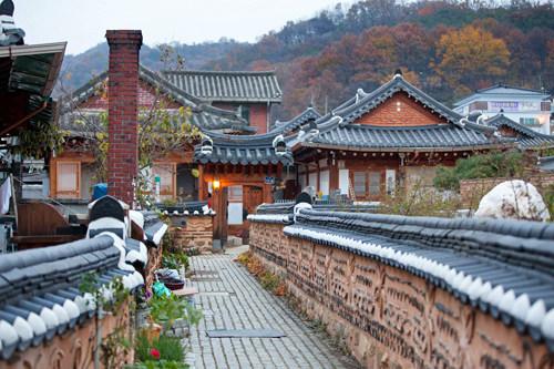 生活と文化が共存している全州韓屋村