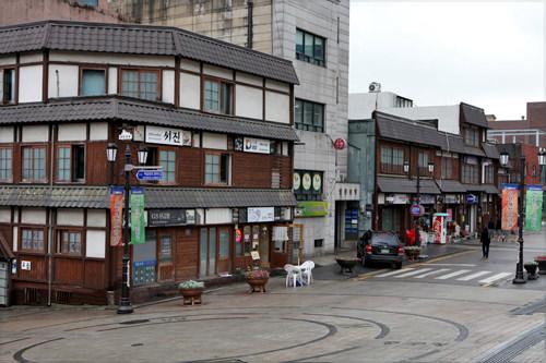 チャイナタウンと隣合わせの旧日本人街