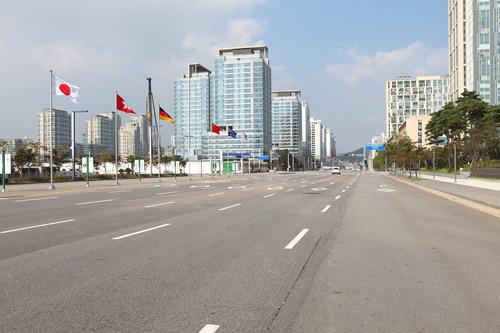 経済自由区域に指定され海外からの投資を積極的に誘致している松島