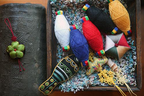 きれいな刺繍糸