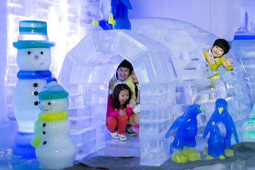 エスキモーの氷の家