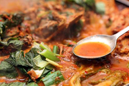 肉の旨みが染み込んだスープ
