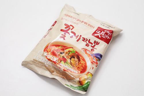 コッケチャンポン(プルムウォン)1,490ウォン 355kcalワタリガニのダシがきいたスープ