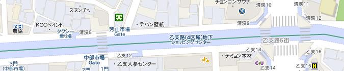 コネスト韓国地図はソウル市内の地下街も網羅!