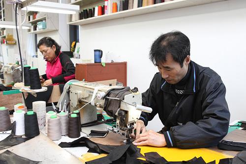 3.型どり・裁断・縫製