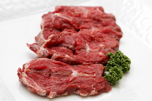 さっと焼くのがポイント肋骨中央部の肉(チェビチュリ)