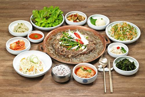 韓牛プルコギ定食(1人分) 15,000ウォン