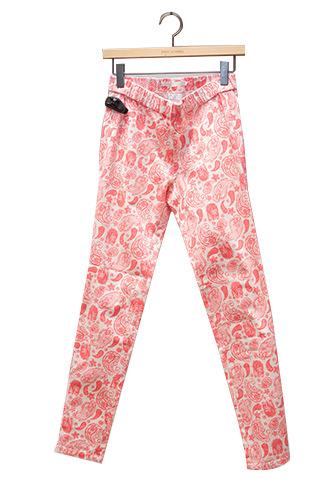ペイズリー柄でレトロ調パンツ 39,900ウォン