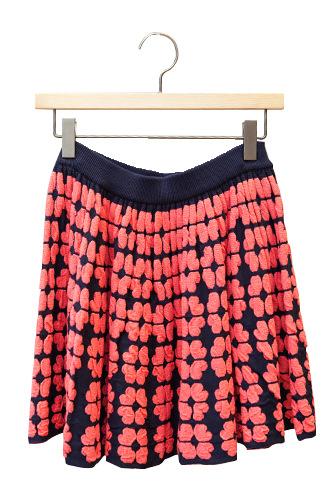 大柄の花がラブリー スカート 49,900ウォン