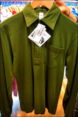 長袖カットソー46,000ウォン