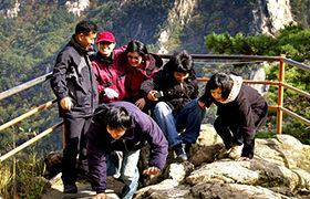 中高年を中心に人気の登山