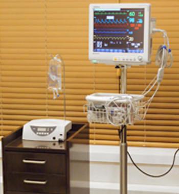 睡眠治療時のバイタル確認器