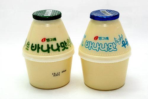 ピングレのバナナ牛乳 900ウォン