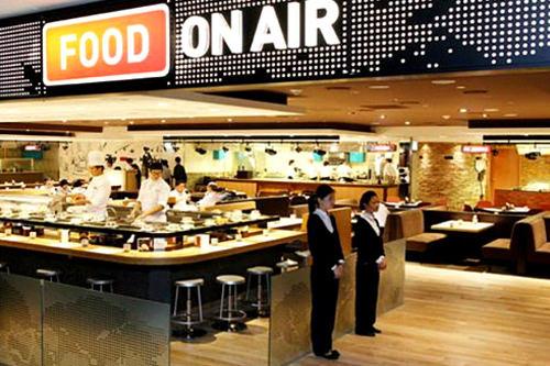 フードコート「FOOD ON AIR」旅客ターミナル地下1階一般区域年中無休、8:00~20:00