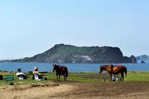 美しい景色を誇る済州島