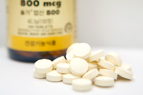 葉酸は薬局で購入すると3カ月分で35,000ウォン程度