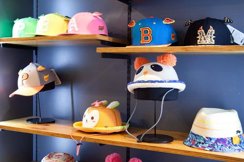 人気商品のキッズサイズやアニマルデザインも キッズ帽子 27,000~55,000ウォン