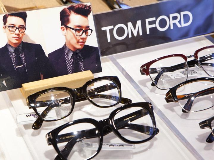 BIGBANGのV.Iが愛用している「TOM FORD」のメガネ