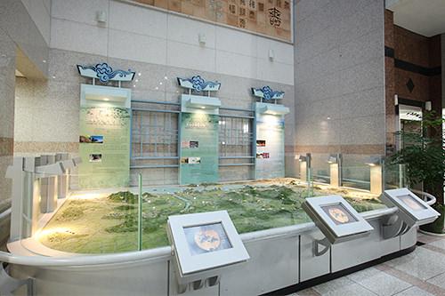 朝鮮時代の陽川地域のジオラマ