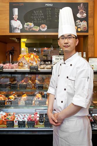 日本語が流暢なオーナーのイ・ヒョンジンさん