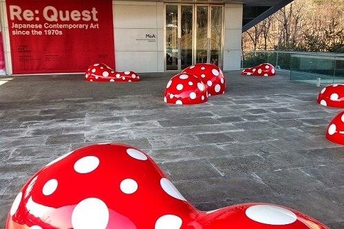 ソウル大学美術館で行なわれた日本の現代美術回顧展『RE:Quest』