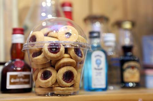 ラズベリークッキー 1カップ5,000ウォン