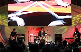9月にゲスト出演した「日韓交流おまつり2013」