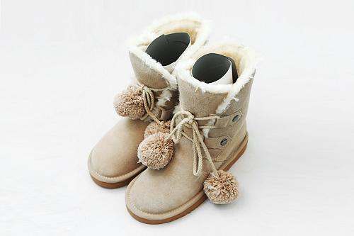 冬の必須アイテムもキュートなデザインを ブーツ 69,000ウォン