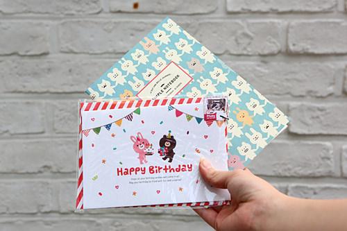 カード類は300ウォンからだって!「ARTBOX」で購入したステーショナリー。日本よりも安く、まとめ買いも怖くない!