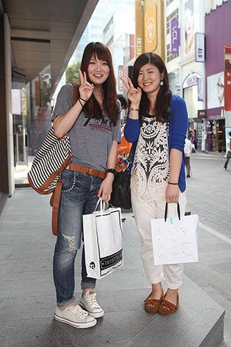 ショッピングエリアごとにそれぞれの特徴があっておもしろい!