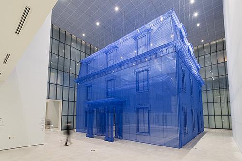 大型作品の展示スペース「Seoul Box」(写真はソウル館提供)