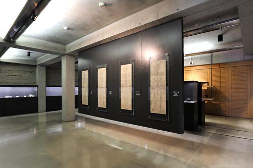 韓方に関する資料が展示されているフロア