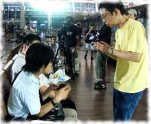 監督との会話もすべて韓国語
