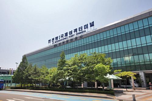 仁川港第1国際旅客ターミナル(地図番号:赤3)