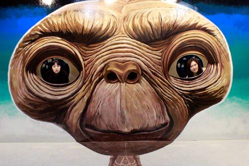 ETの瞳に素敵な顔を映りこませよう