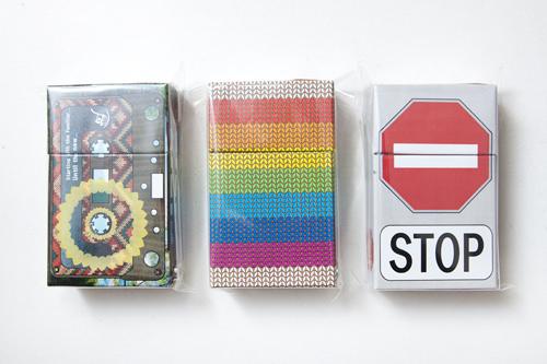ライターやカードも収納可能!柄が豊富なタバコケース各15,000ウォン