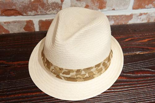 涼しげなデザインで人気のコラボデザインハット(COVERNAT×San francisco hat・韓国×アメリカ)109,000ウォン
