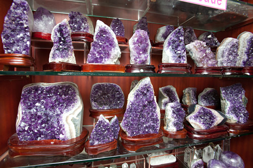 紫水晶の原石