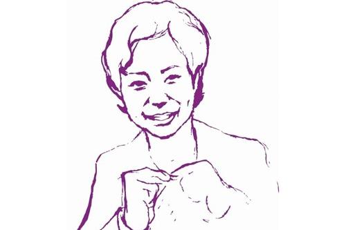 お店のキャラクターになっている代表・李玉珠さん