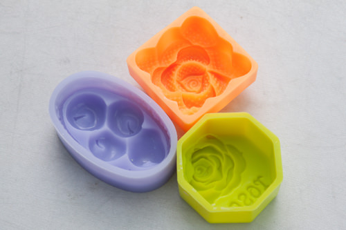 バラの花の型