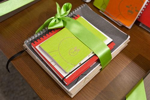 スウェーデン生まれのステーショナリーブランド「BOOKBINDERS DESIGN(ブックバインダーズデザイン)」とのコラボ。ノートセット 105,000ウォン
