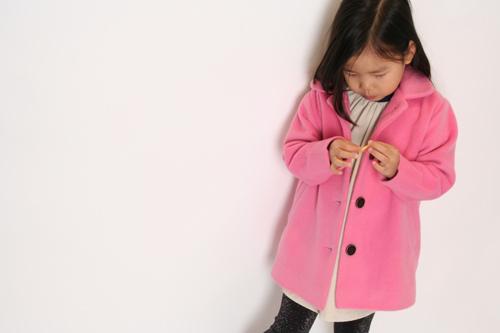 5~6歳の子ども服も揃うmoggojiのコート 60,000ウォン