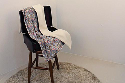 手で縫い上げた丁寧な仕上がりsunday sundaeの掛け布団  42,000ウォン