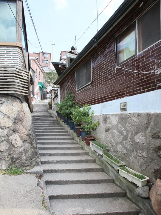 北村8景 三清洞石段